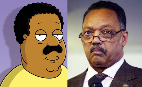 Celebrity characters on family guy