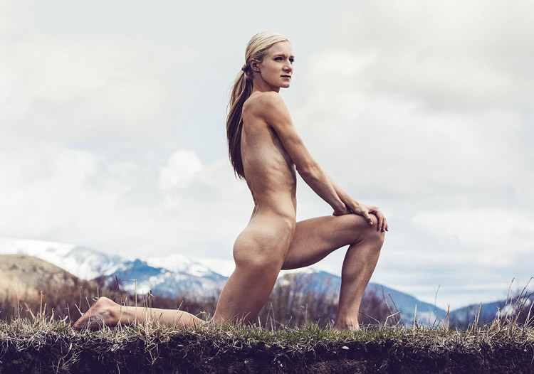 Ali krieger espn body issue behind the scenes 1