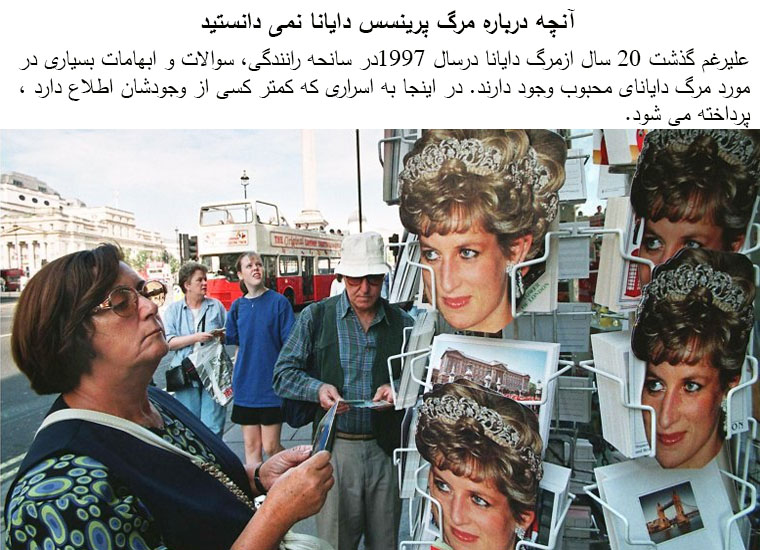 conspiracy theories about princess dianas death essay More than two decades after princess diana was killed in a car crash, conspiracy  theories are still circulating about the circumstances of her.